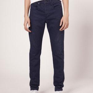 Rag & Bone Men Jeans Size 30 Extra Slim Coated